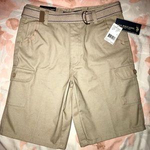 Youth boys uniform shorts